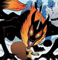 Ratatoskr (Earth-616) and Doreen Green (Earth-616) from Unbeatable Squirrel Girl Vol 2 43 001