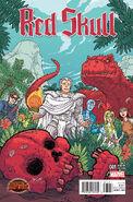 Red Skull Vol 2 1 Pitarra Variant