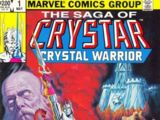 Saga of Crystar, Crystal Warrior Vol 1 1