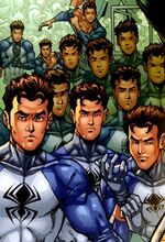 Spider-Clones (Earth-91101) from Spider-Man The Clone Saga Vol 1 3 001