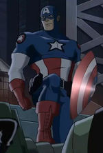 Steven Rogers (Earth-3488) from Ultimate Avengers The Movie 001