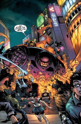 Tokyo from Cyberforce X-Men Vol 1 1 001