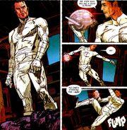 Ultron (Earth-616) head -Marc Spector (Earth-616) Moon Knight Vol 6 1