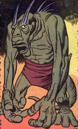 X (Monster) (Earth-616) from Fear Vol 1 2 0001