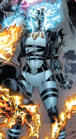 Ava Cochrane (Warp World) (Earth-616) from Secret Warps Ghost Panther Annual Vol 1 1 001