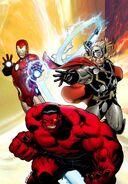 Avengers Vol 4 7 Ed McGuinness Textless Variant
