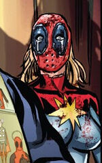 Carol Danvers (Earth-Unknown) from Deadpool Kills Deadpool Vol 1 2 0001