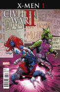 Civil War II X-Men Vol 1 1 Land Variant