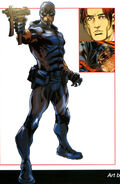 Damon Ryder (Earth-616) from Official Handbook of the Marvel Universe A-Z Update Vol 1 5 0001