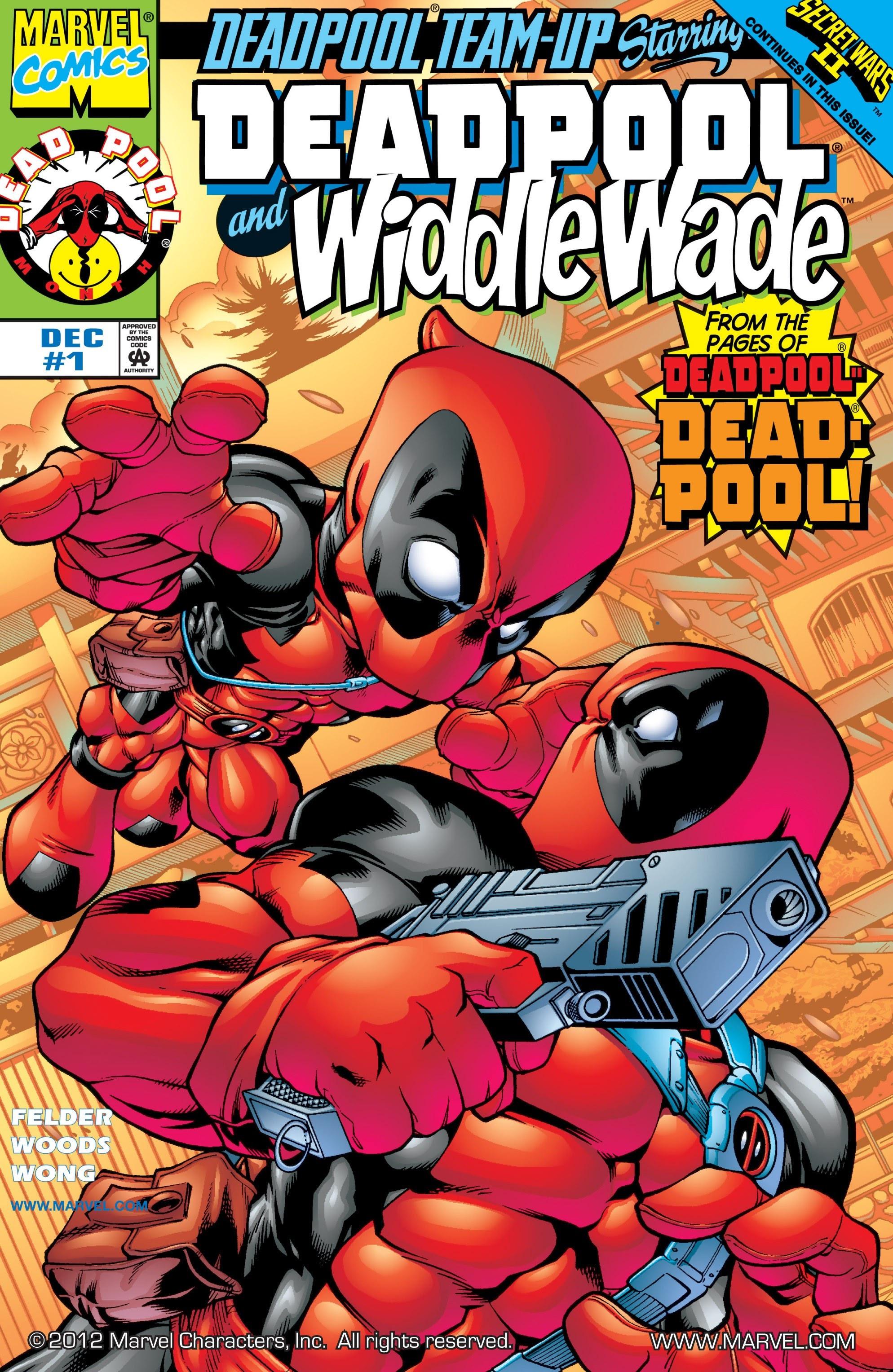 Deadpool Team-Up Vol 1 1