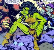 Jennifer Walters (Earth-Unknown) from Sensational She-Hulk Vol 1 50 0003