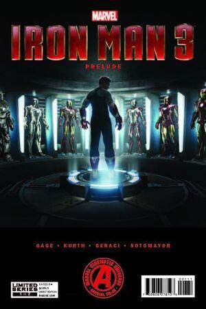 Marvel's Iron Man 3 Prelude Vol 1 1