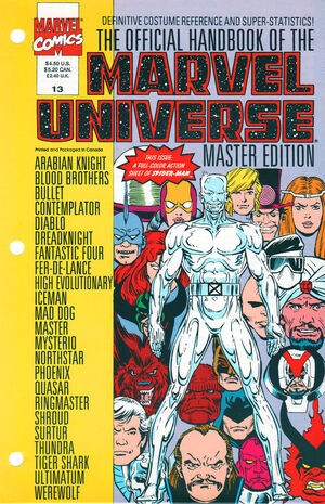 Official Handbook of the Marvel Universe Master Edition Vol 1 13