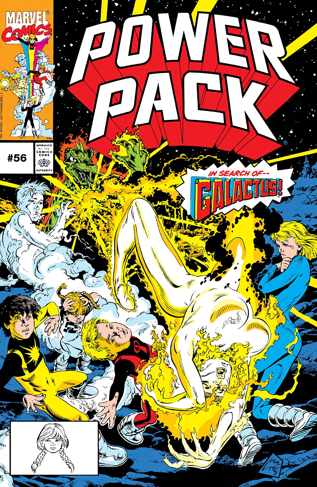 Image result for power pack issue 56
