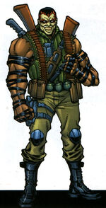 Raoul Bushman (Earth-616) from Official Handbook of the Marvel Universe A-Z Update Vol 1 3 0001