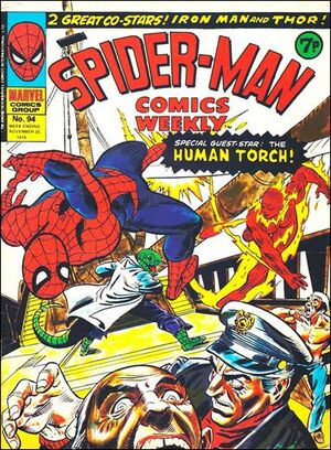 Spider-Man Comics Weekly Vol 1 94
