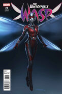 Unstoppable Wasp Vol 1 1 Movie Variant