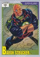 Wolfgang von Strucker (Earth-616) from Marvel Universe Cards Series II 0001