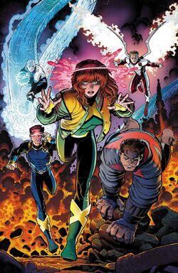 X-Men Blue Vol 1 1 Textless