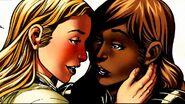 Xavin (Earth-616) and Karolina Dean (Earth-616) from Runaways Vol 2 29 001