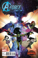 A-Force Vol 1 1 Molina Variant
