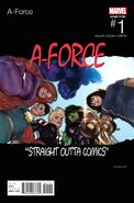 A-Force Vol 2 1 Hip-Hop Variant