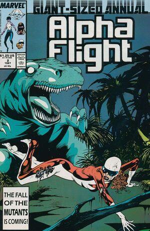 Alpha Flight Annual Vol 1 2