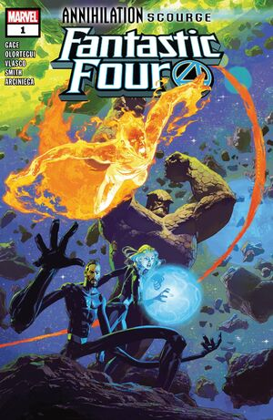 Annihilation - Scourge Fantastic Four Vol 1 1