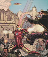 Anthony Stark (Earth-199999) in Gulmira from Iron Man I Am Iron Man Vol 1 2 0001