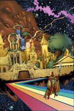 Asgard (City) from Thor Vol 2 50 001