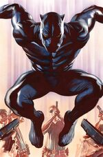 Black Panther Vol 6 1 Ross Variant Textless