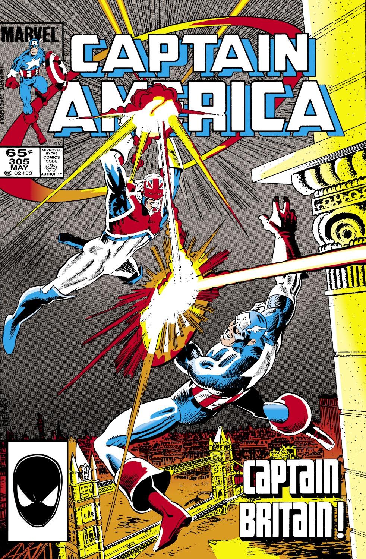 Captain America Vol 1 305