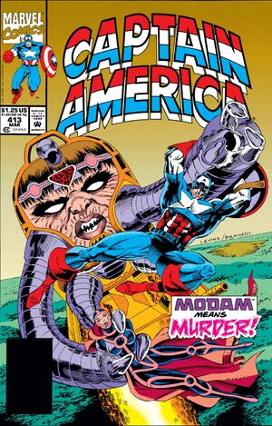 Captain America Vol 1 413