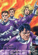 Challengers of the Fantastic (Earth-9602) from Amalgam Comics (Trading Cards) 0001