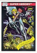 Longshot (Mojoverse) from Marvel Universe Cards Series I 0001