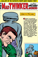 Mad Thinker (Julius) (Earth-616) and the Awesome Android (Earth-616) Gallery Page from Fantastic Four Annual Vol 1 1