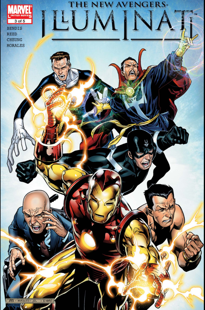 Image result for new avengers illuminati #3