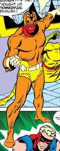 Nick Fury posing as Scorpio in Avengers Vol 1 72