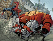 Peter Parker and Piotr Rasputin (Earth-616) from AVX Vs Vol 1 2 0001