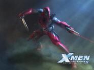 Wade Wilson (Earth-7964) from X-Men Legends II Rise of Apocalypse 0001