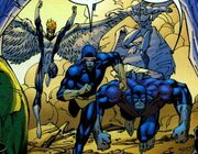 X-Men (Earth-7642) from WildC.A.T.s X-Men Vol 1 The Silver Age 001