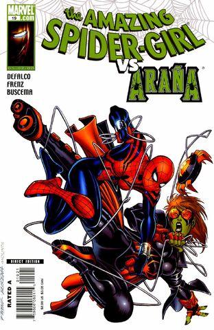 File:Amazing Spider-Girl Vol 1 19 Secret Skrull Variant.jpg