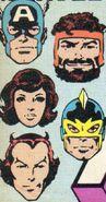 Avengers (Earth-616) from Avengers Vol 1 255 Cover