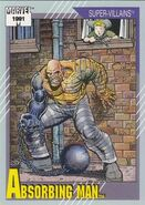 Carl Creel (Earth-616) from Marvel Universe Cards Series II 0001