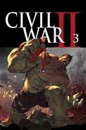 Civil War II Vol 1 3 Textless