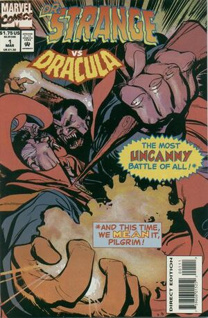 Doctor Strange vs Dracula Vol 1 1