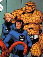 Fantastic Four (Earth-95019) from Marvel Apes Amazing Spider-Monkey Special Vol 1 1 001
