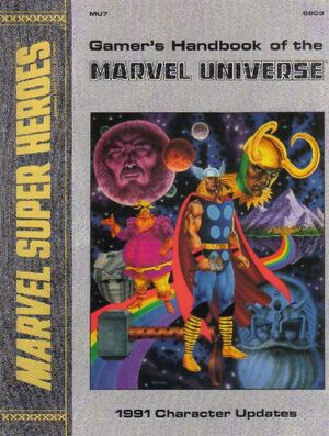 Gamer's Handbook of the Marvel Universe Vol 1 7