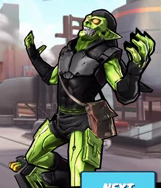 House of M Goblin (Peter Parker) from Spider-Man Unlimited (video game) 001