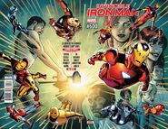 Invincible Iron Man Vol 1 600 Wraparound